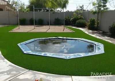 Artificial Turf Kid's Play Area in Tempe, AZ