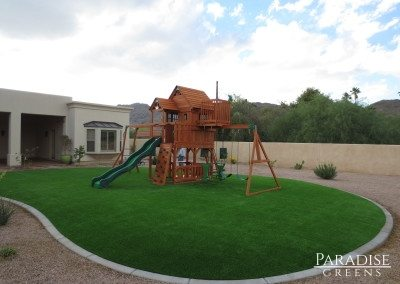 Artificial Turf Kid's Play Area in Glendale, AZ