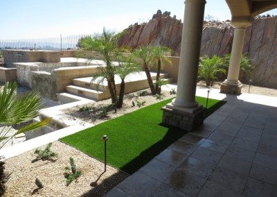 Fake Grass Lawn in Carefree, AZ