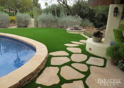 Synthetic Grass in Lawn in Peoria, AZ