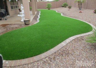 Fake Grass Lawn in Gilbert, AZ