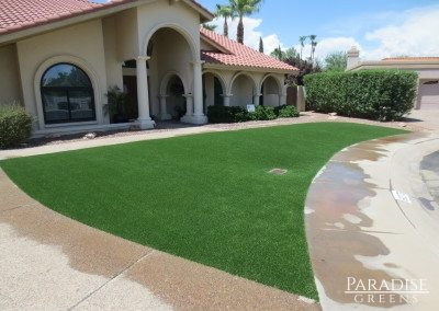 Synthetic Grass at Scottsdale Ranch in Scottsdale, AZ