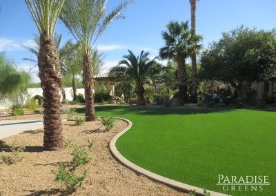 Artificial Turf Lawn at Stonegate in Scottsdale AZ