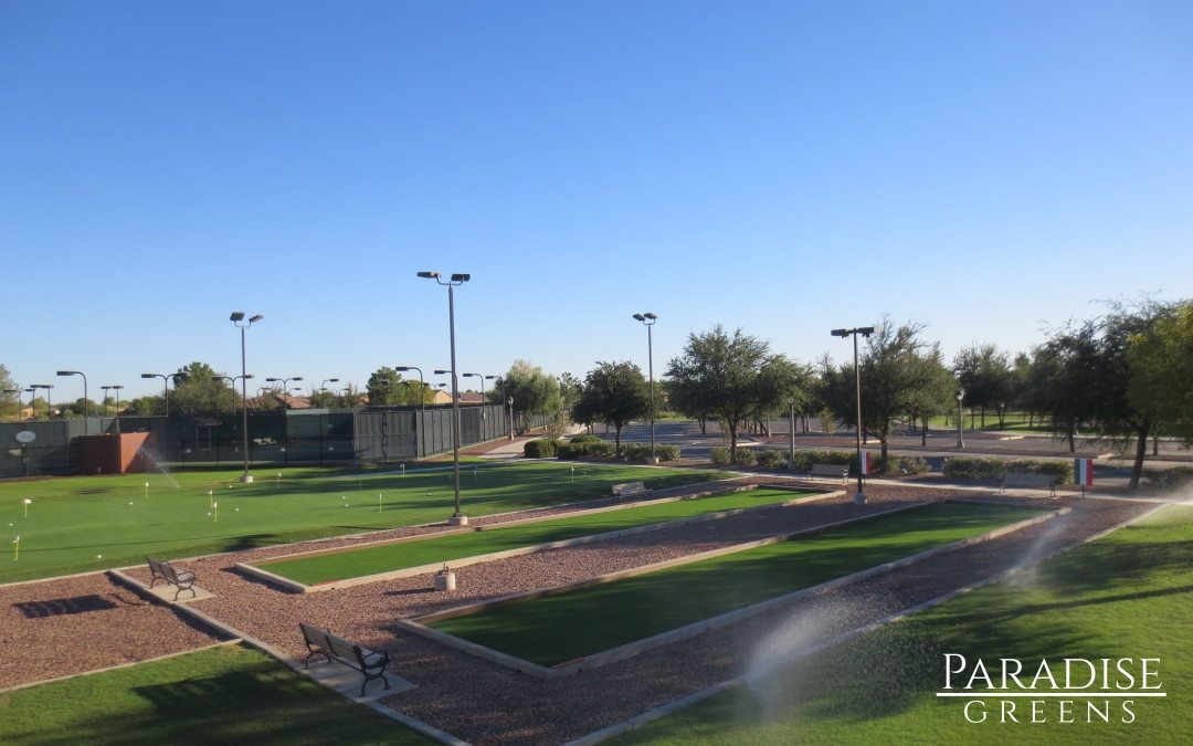 Artificial Turf Bocce Ball Courts in Arizona