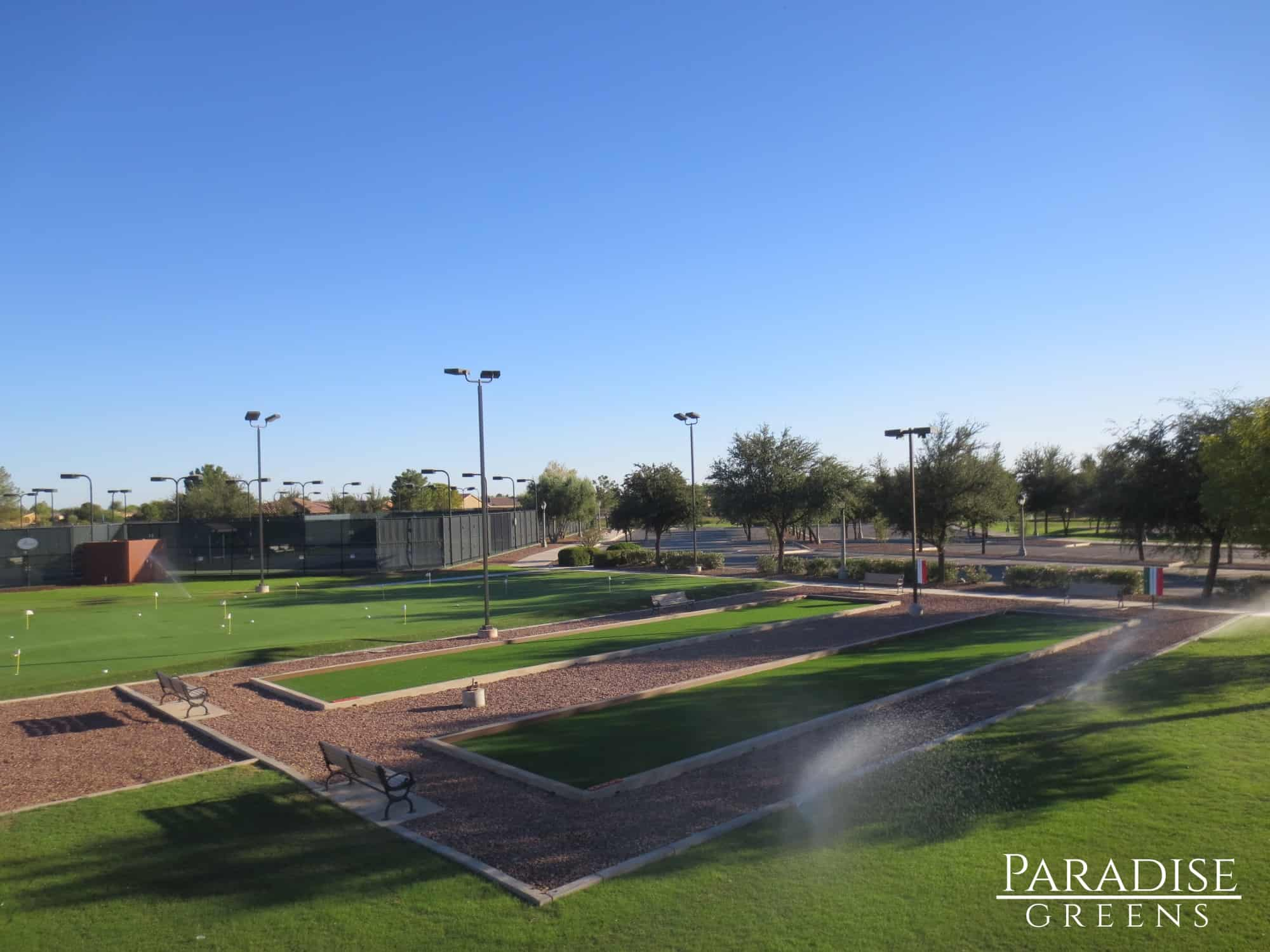 Bocce Ball Courts in Maricopa, AZ
