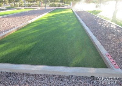 Bocce Ball Court in Maricopa, AZ