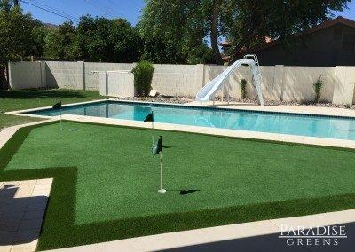 Putting Green in Gilbert, AZ