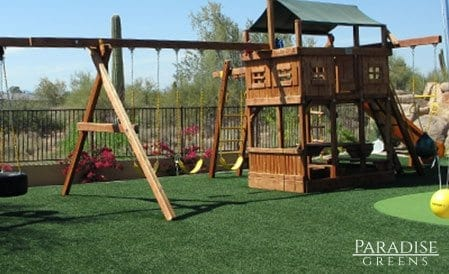 Artificial Turf Playground in Scottsdale, AZ