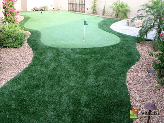 Custom Designed Putting Greens