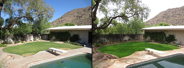 before&after pool side