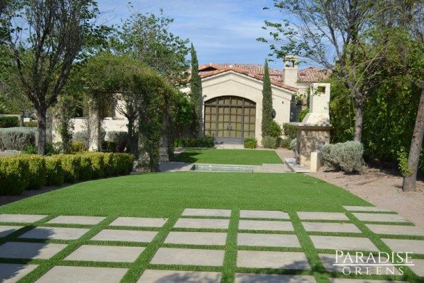 Artificial Turf Design in Paradise Valley, AZ