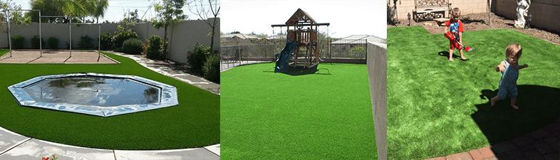 artificial grass arizona kids play area