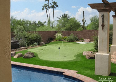 Putting Green in Care Free, AZ