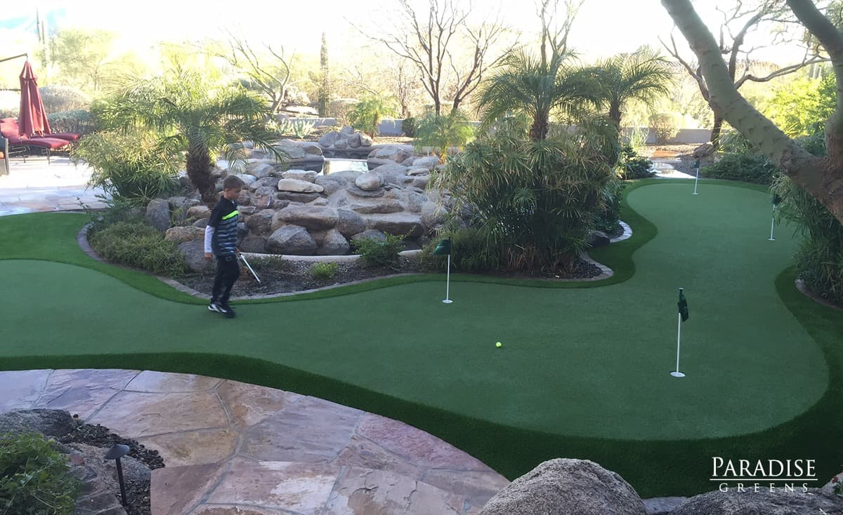 custom putting green company in scottsdale arizona