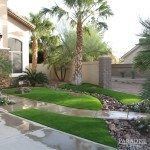 Artificial Turf Landscaping Withstands Arizona Monsoon Season
