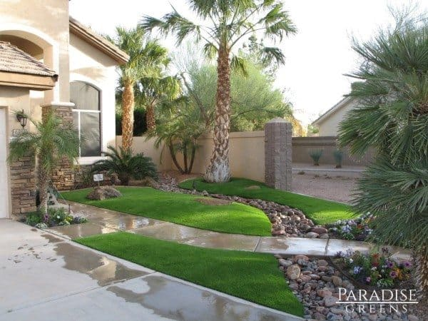 Artificial Turf That Can Withstand Arizona's Monsoon Season