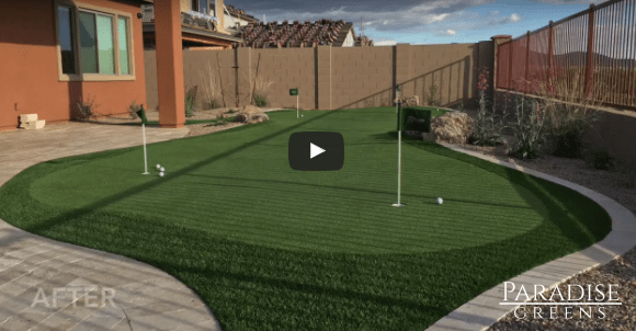 Putting Green Testimonial from Scottsdale Resident