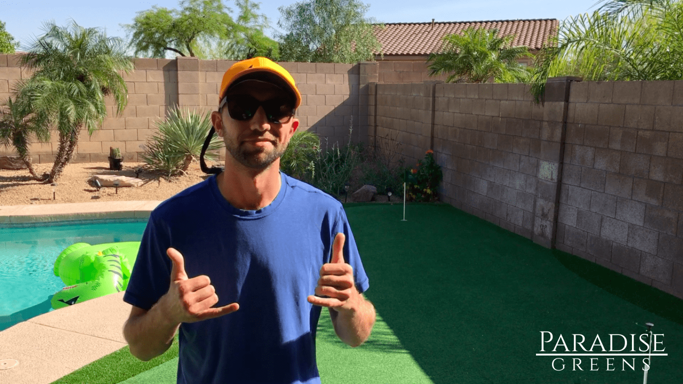 Want A Putting Green In Your Phoenix Backyard? We Can Do That!